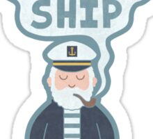 Indifferent Captain Sticker