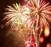 Rainy Fireworks by studiohaus