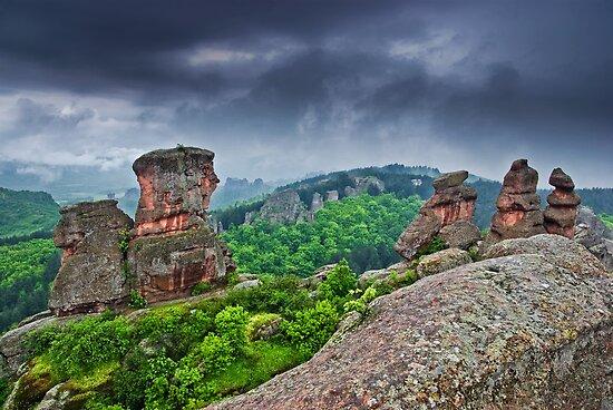 Belogradchik Rocks, Bulgaria by Ivo Velinov