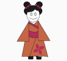 ★ Japanese Family - Japan Spirit Dolls - Girl ★ Baby Tee