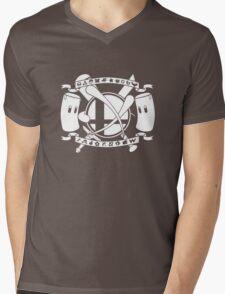 Smash Arms Mens V-Neck T-Shirt
