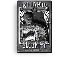 Kharis Security Canvas Print