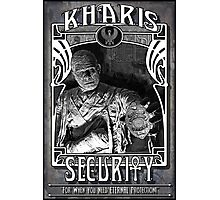 Kharis Security Photographic Print