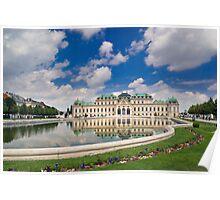 Belvedere Palace, Vienna, Austria Poster
