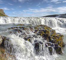 Gullfoss Upper Falls by acolleau