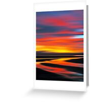 Wetlands Twilight Greeting Card