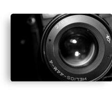Lens View Canvas Print