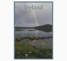 Nature Series/Rainbow Lake/Iceland One Piece - Short Sleeve