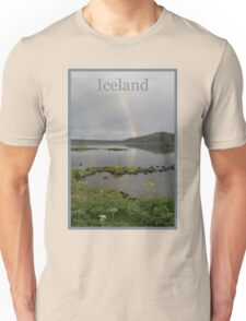 Nature Series/Rainbow Lake/Iceland Unisex T-Shirt
