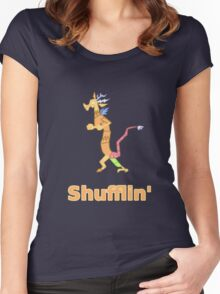 Every Day im Shufflin' Women's Fitted Scoop T-Shirt