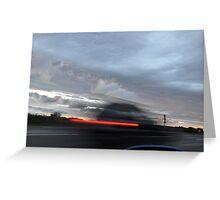 Wind Clouds Greeting Card