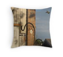 Face Off Throw Pillow