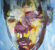 After Jenny Saville-Stare by Josh Bowe