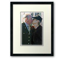 Ray & Shirley Framed Print