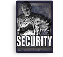 Mummy's Security Canvas Print