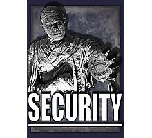 Mummy's Security Photographic Print