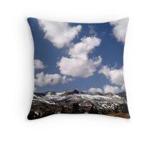 View From Saddlebag Lake Throw Pillow