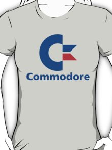 Classic Commodore C64 Graphic Tee T-Shirt