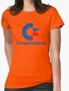 Classic Commodore C64 Graphic Tee Womens Fitted T-Shirt