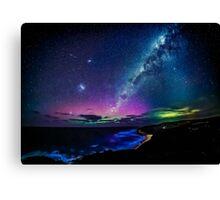 Bells Beach Aurora Australis Canvas Print