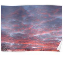Pink Clouds at Sunrise 12-10 Poster