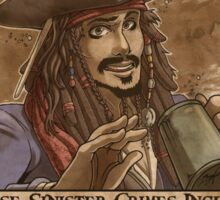 WANTED - Jack Sparrow Sticker