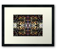 Mirrored Machine Framed Print