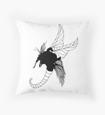 The Shrewd Throw Pillow