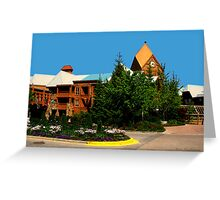 View of Whistler Village Greeting Card