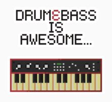Drum and Bass is Awesome... Kids Clothes