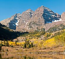 The Maroon Bells by Greg Summers