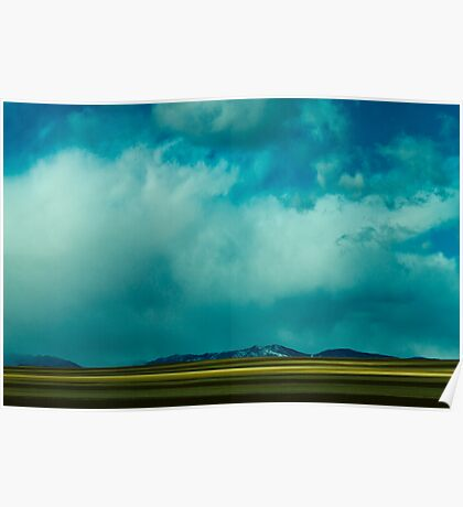 Storm Across Moves Across The Plains Poster