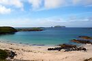 Bosta Beach, Great Berneray Isle, Lewis, scotland by David Alexander Elder