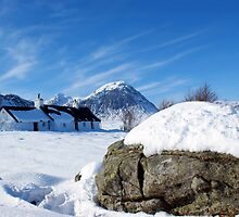 Black Rock Cottage, Glencoe, Scotland by David Alexander Elder