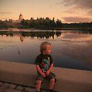 Enjoying the sunset  by Lady  Dezine