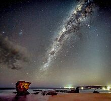 Split Point Night Sky by Russell Charters