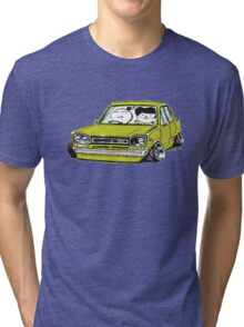 hakosuka Stanced Tri-blend T-Shirt