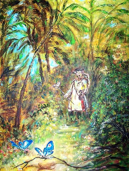 BUTTERFLY CATCHER  by Mary Sedici