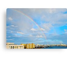 rainbow over San Juan Metal Print