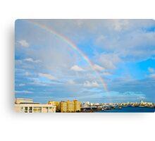 rainbow over San Juan Canvas Print