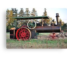 The Steam Powered Tractor Canvas Print