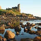 Dunure Castle, Ayrshire, Scotland by David Alexander Elder