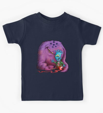A boy and his Grogg Kids Tee