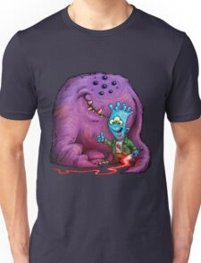 A boy and his Grogg Unisex T-Shirt