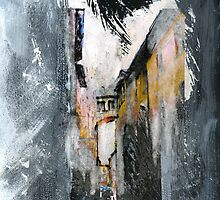 Italy-Memory Drawing 3 by Richard Sunderland