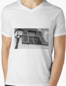 Lamp and window Mens V-Neck T-Shirt