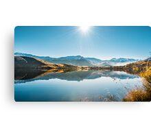 Landscape Mountain Lake Canvas Print