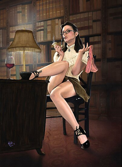 Elementary, my dear Watson by KC Art