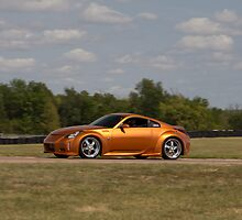 Brian Cornell's Nissan 350Z at the Heartland Park Topeka Road Course by Paul Danger Kile