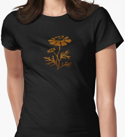 In a Warm Room - JUSTART © Womens Fitted T-Shirt